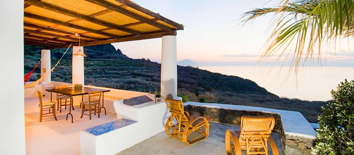 L'Ulivo di Pollara Seafront Sicily Villa Rental Salina Aeolian Islands - 26