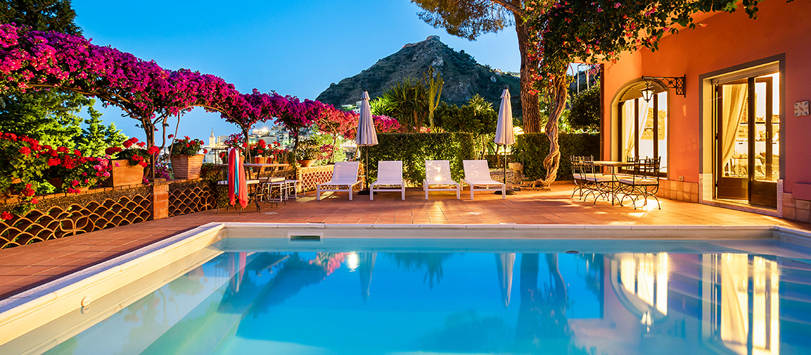 La Boheme Luxury Villa with Pool for rent in Taormina Sicily - 0