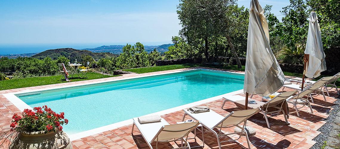 La Capinera Villa con Piscina in affitto Zafferana Etnea Etna Sicilia - 1