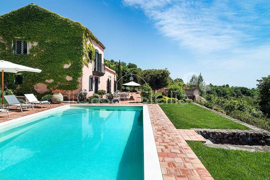 La Capinera Villa con Piscina in affitto Zafferana Etnea Etna Sicilia - 5