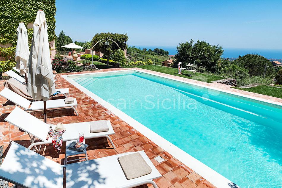 La Capinera Villa con Piscina in affitto Zafferana Etnea Etna Sicilia - 9