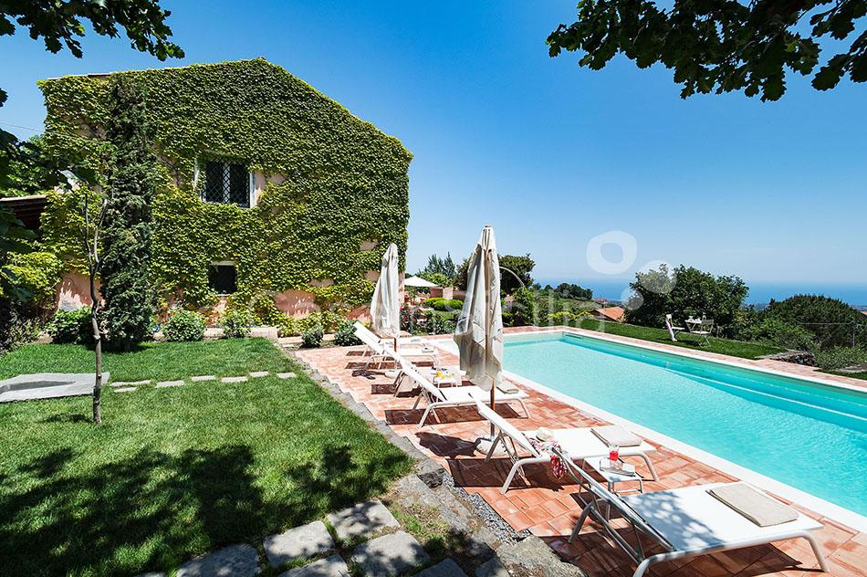 La Capinera Villa con Piscina in affitto Zafferana Etnea Etna Sicilia - 10