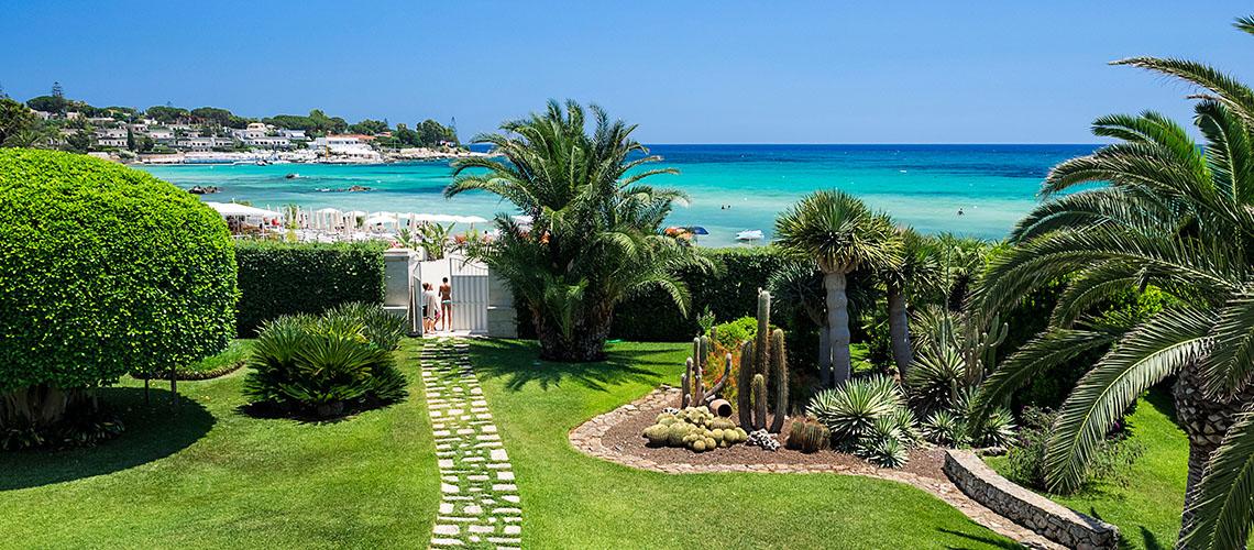 La Plage Sicily Beach Villa for rent in Fontane Bianche Sicily - 0