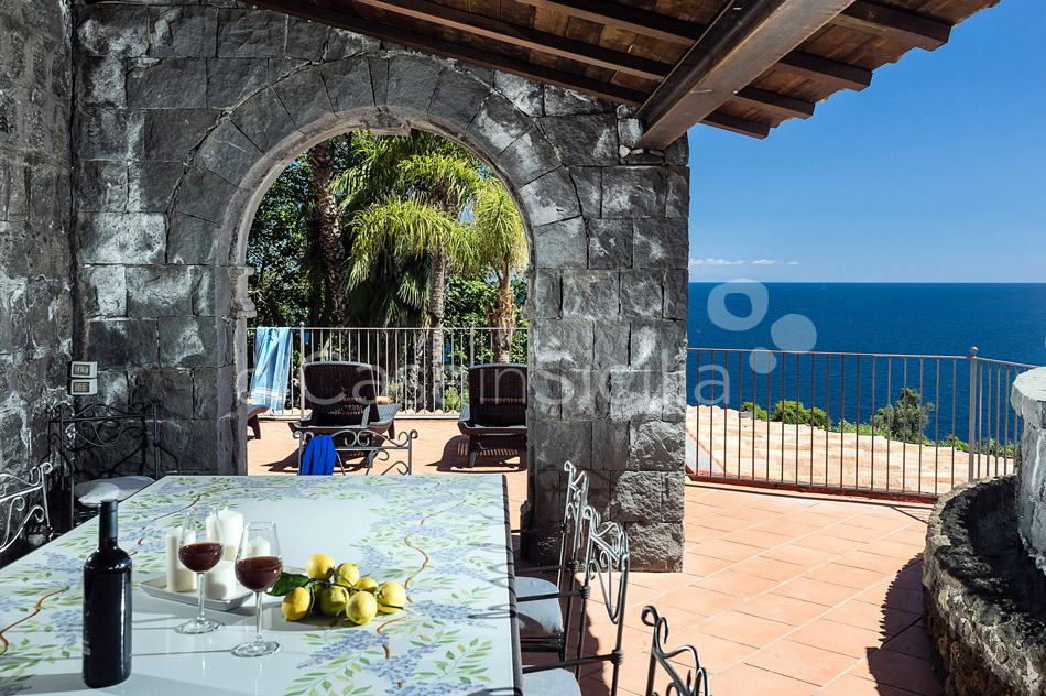 La Timpa Seafront Villa with Pool for rent near Acireale Sicily - 12