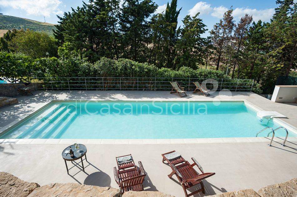 Baglio Maranzano Marietta House with Pool for rent Trapani Sicily - 9