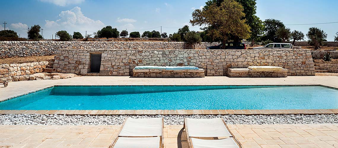 Le Edicole Designer Villa mit Pool zur Miete auf dem Land Ragusa Sizilien  - 1