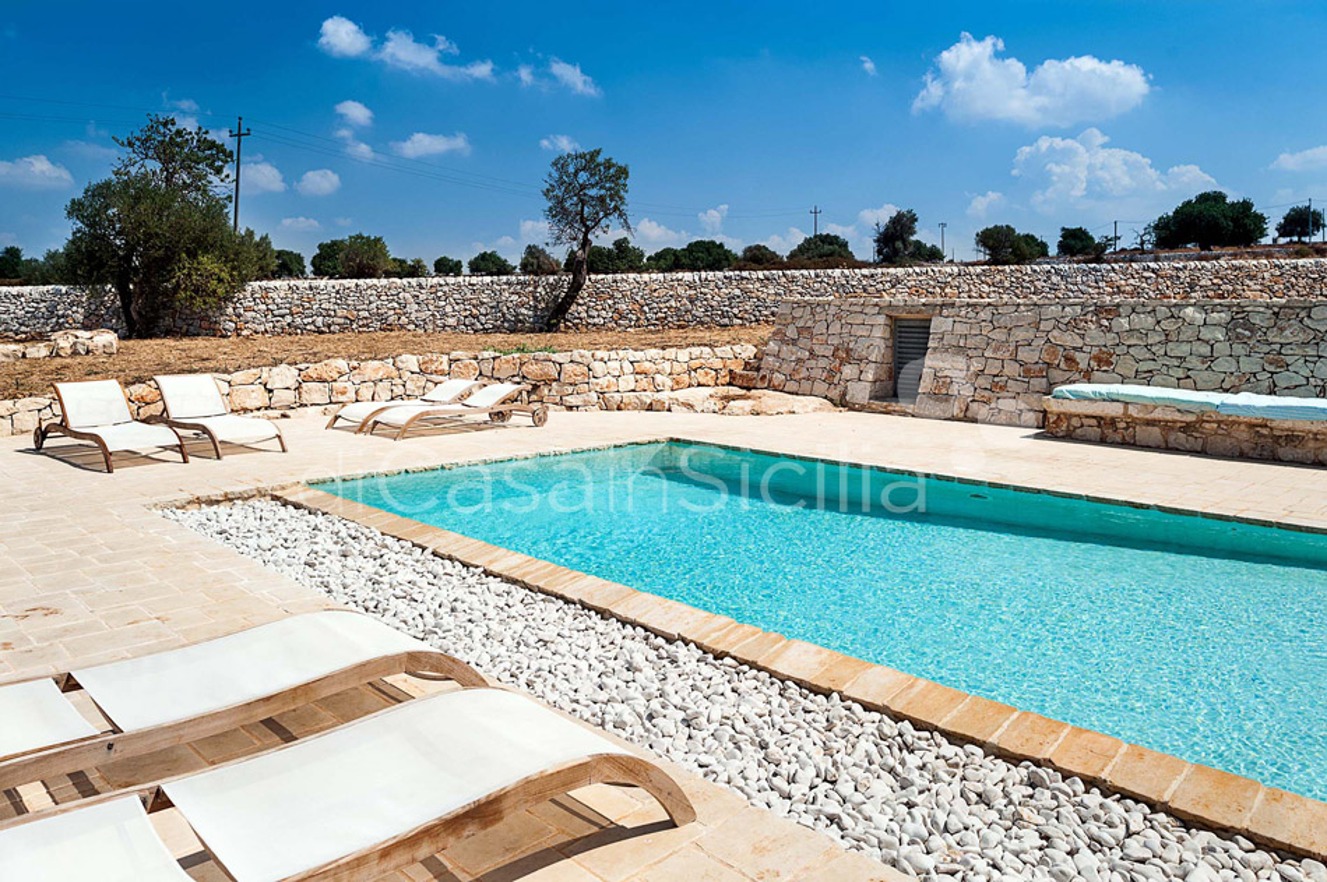 Le Edicole Designer Villa mit Pool zur Miete auf dem Land Ragusa Sizilien  - 7
