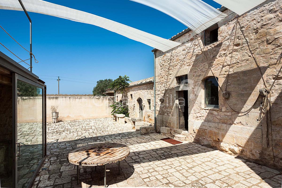 Le Edicole Designer Villa mit Pool zur Miete auf dem Land Ragusa Sizilien  - 12