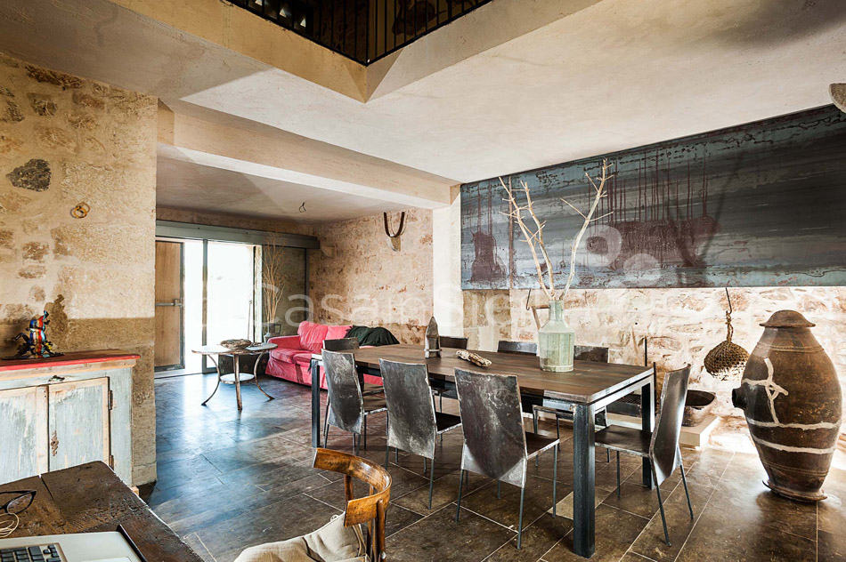 Le Edicole Designer Villa mit Pool zur Miete auf dem Land Ragusa Sizilien  - 15