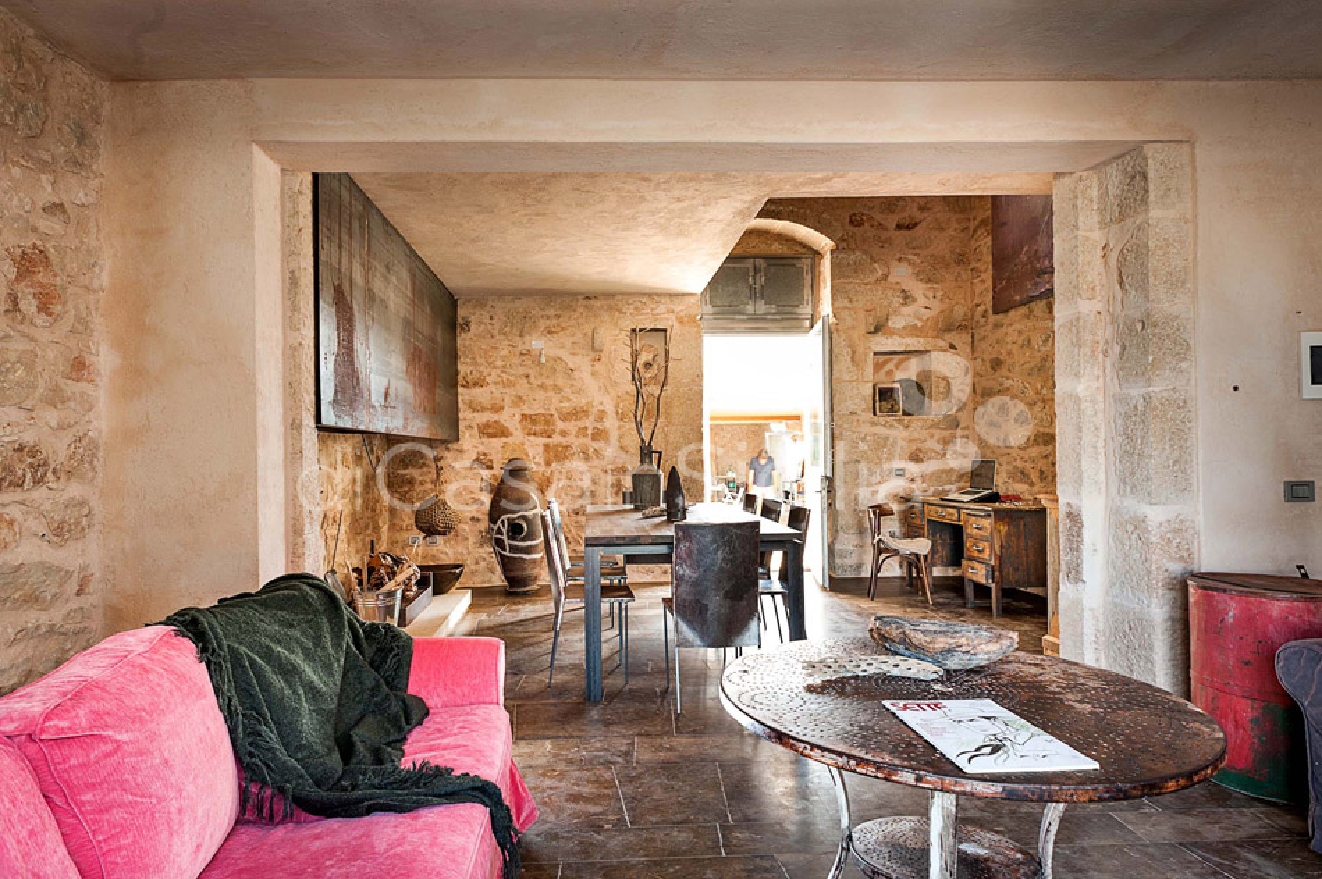 Le Edicole Designer Villa mit Pool zur Miete auf dem Land Ragusa Sizilien  - 16
