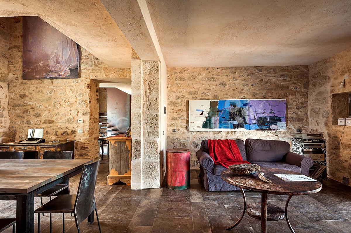 Le Edicole Designer Villa mit Pool zur Miete auf dem Land Ragusa Sizilien  - 17