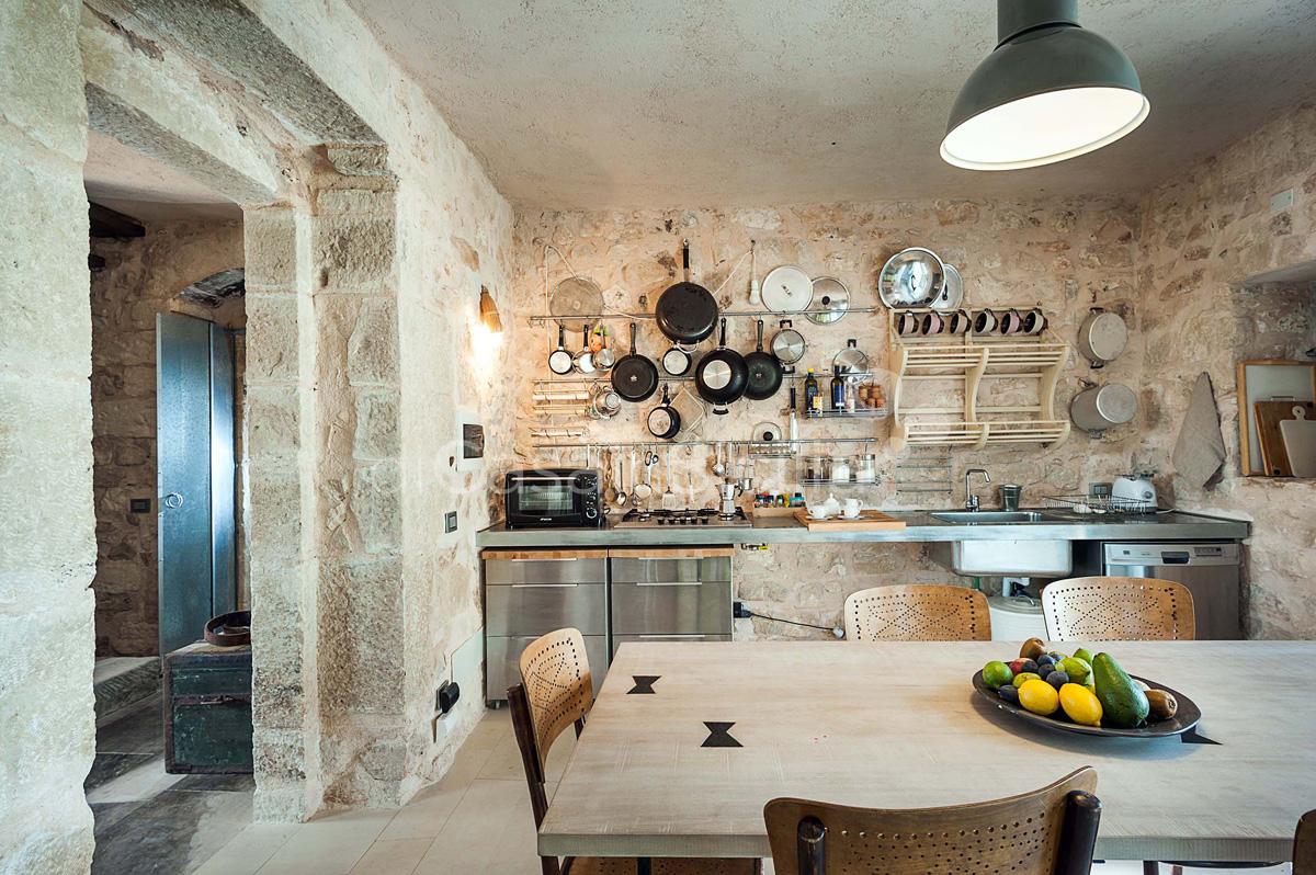 Le Edicole Designer Villa mit Pool zur Miete auf dem Land Ragusa Sizilien  - 19
