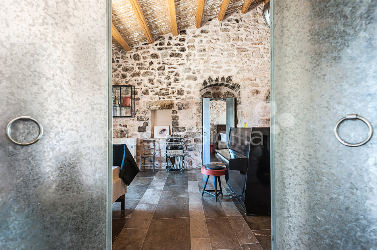 Le Edicole Designer Villa mit Pool zur Miete auf dem Land Ragusa Sizilien  - 35