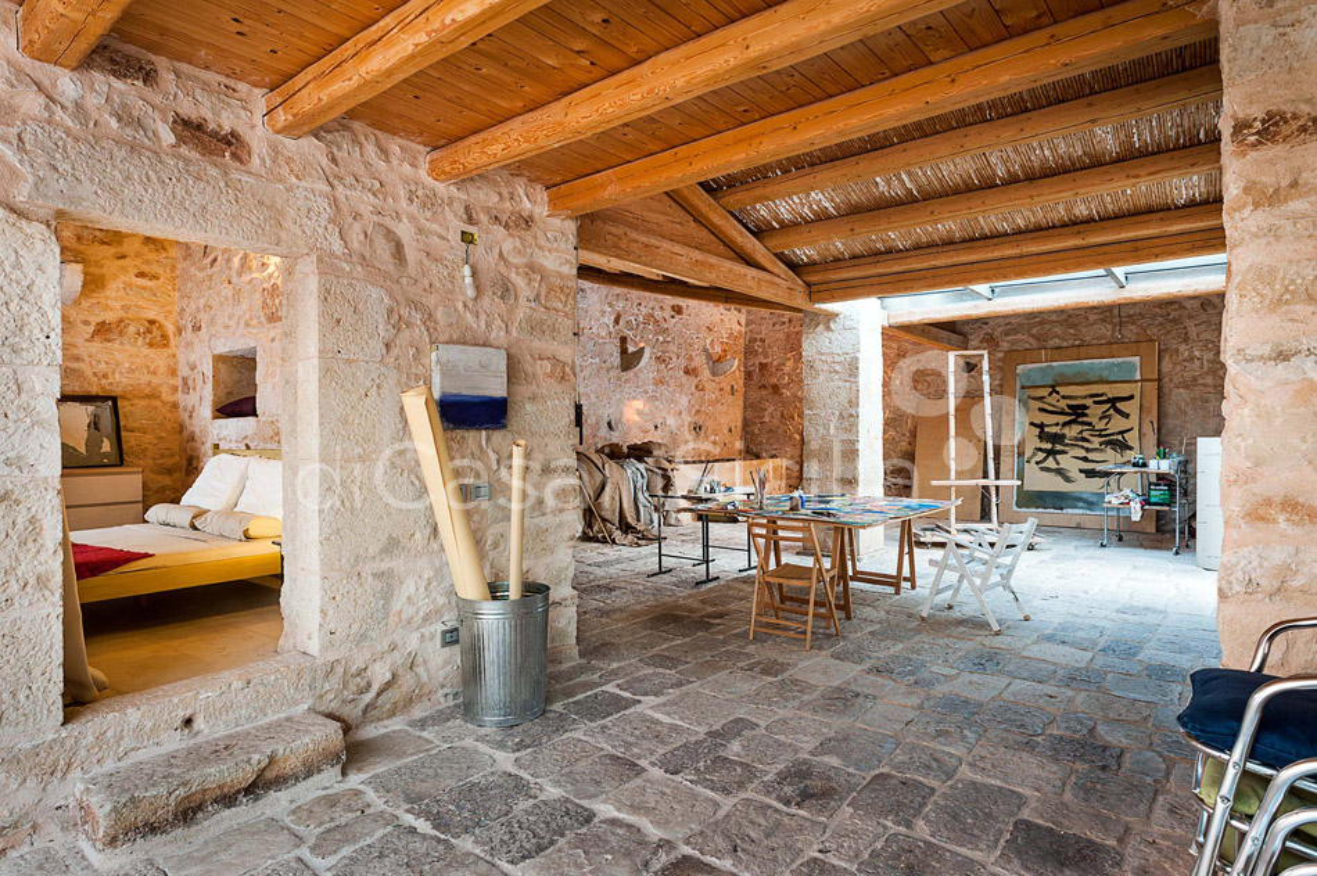 Le Edicole Designer Villa mit Pool zur Miete auf dem Land Ragusa Sizilien  - 38