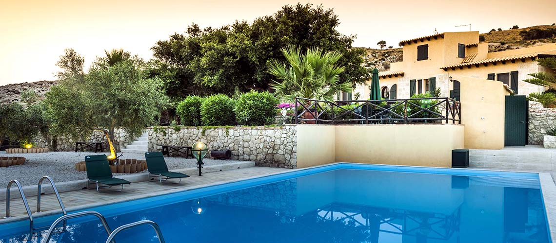 Masseria Falamandrina Villa with Pool for rent near Agrigento - 24