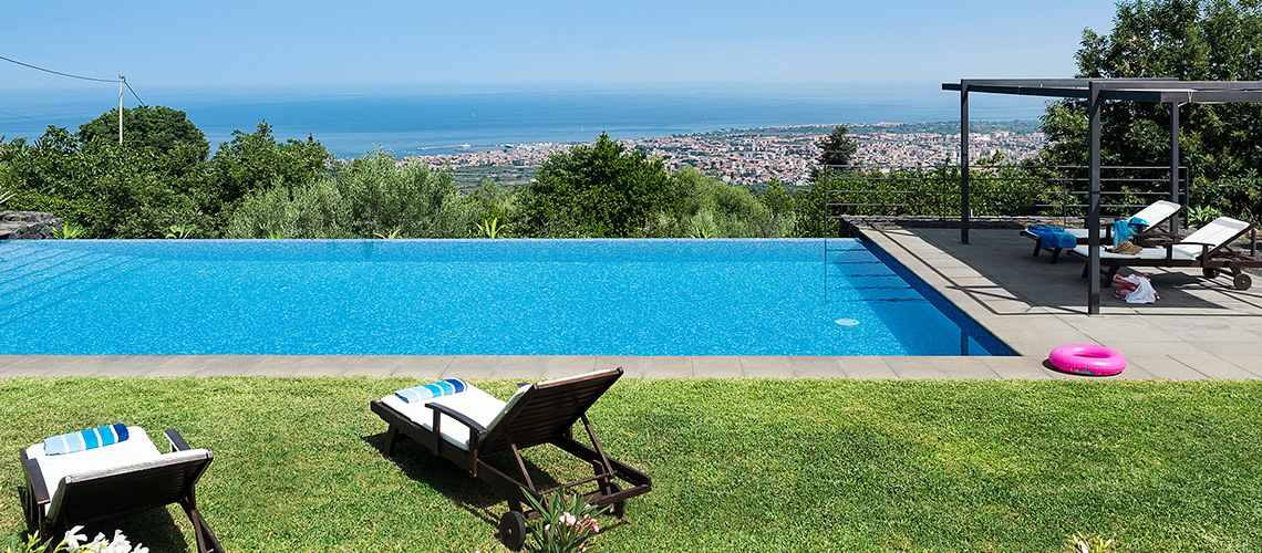 Montebello Villa with Pool & Hot Tub for rent Milo Mount Etna Sicily - 39