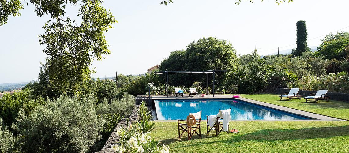 Montebello Villa mit Pool und Whirlpool zur Miete Milo Etna Sizilien - 40