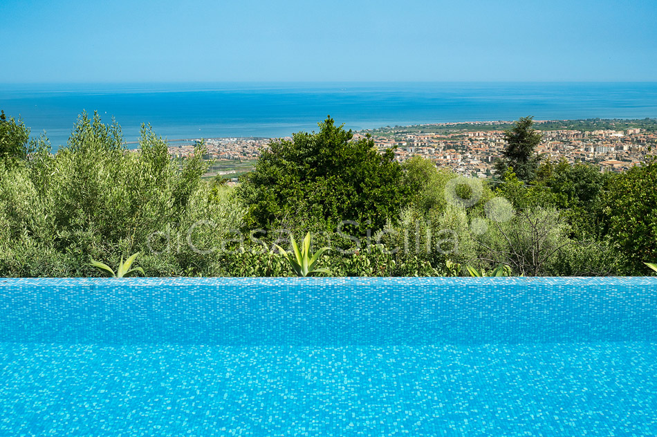 Montebello Villa with Pool & Hot Tub for rent Milo Mount Etna Sicily - 0