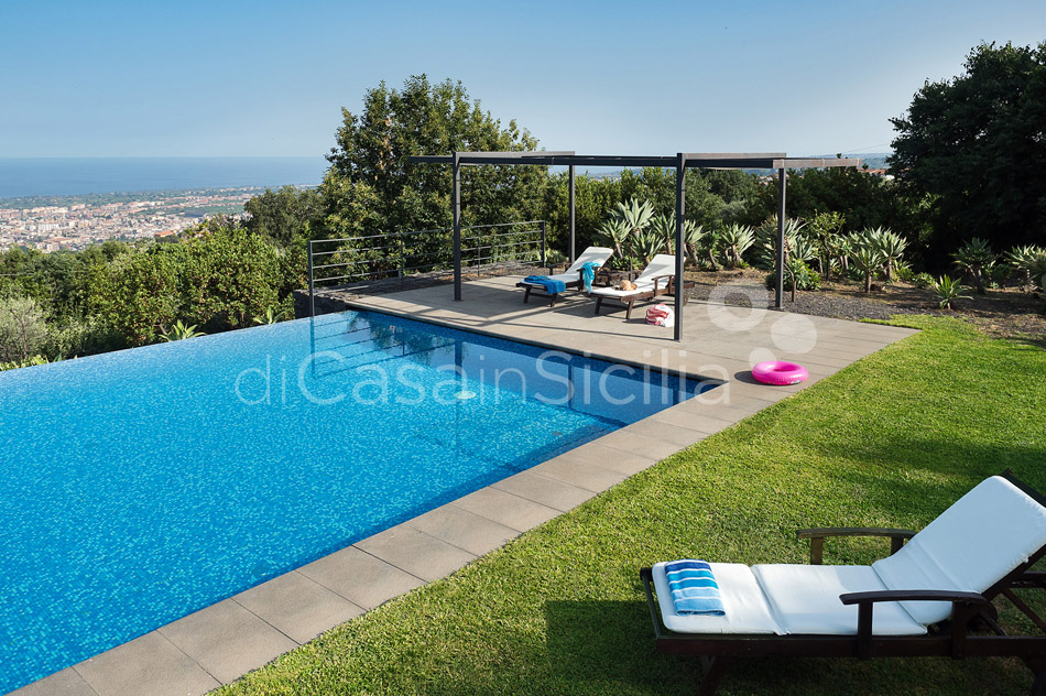 Montebello Villa with Pool & Hot Tub for rent Milo Mount Etna Sicily - 1