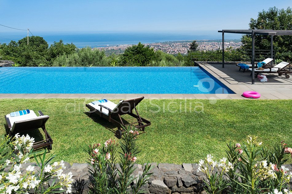 Montebello Villa with Pool & Hot Tub for rent Milo Mount Etna Sicily - 2