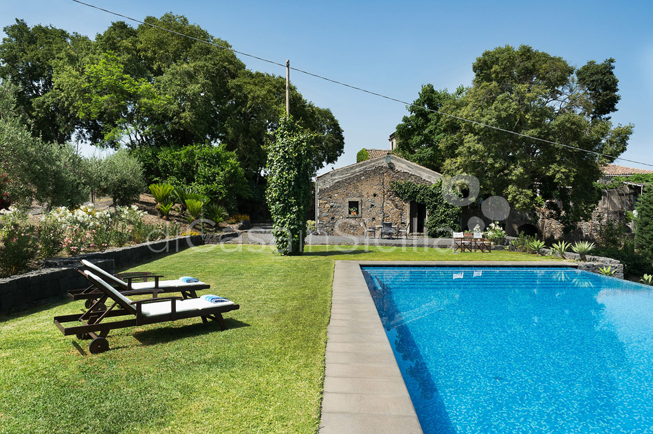 Montebello Villa with Pool & Hot Tub for rent Milo Mount Etna Sicily - 4