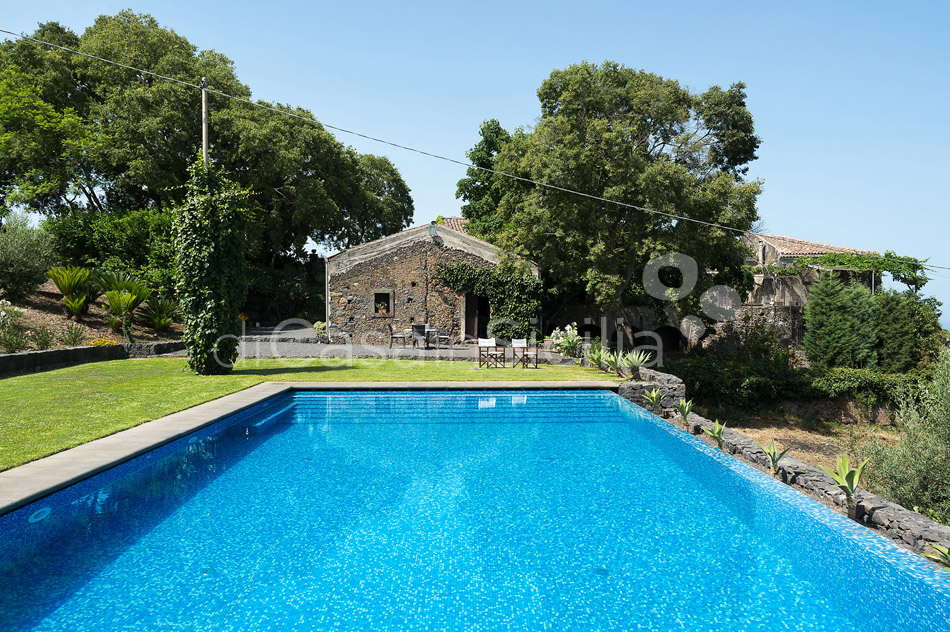 Montebello Villa with Pool & Hot Tub for rent Milo Mount Etna Sicily - 5