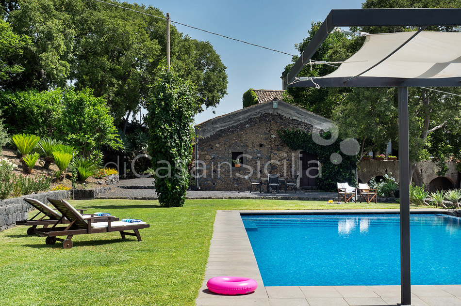 Montebello Villa with Pool & Hot Tub for rent Milo Mount Etna Sicily - 6