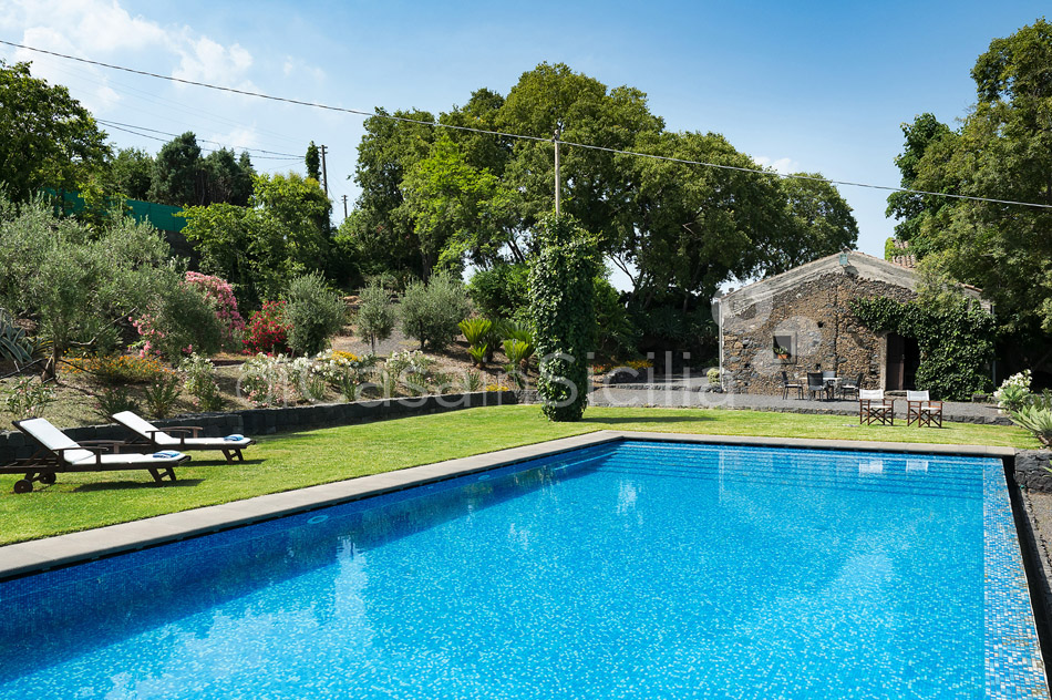 Montebello Villa with Pool & Hot Tub for rent Milo Mount Etna Sicily - 7