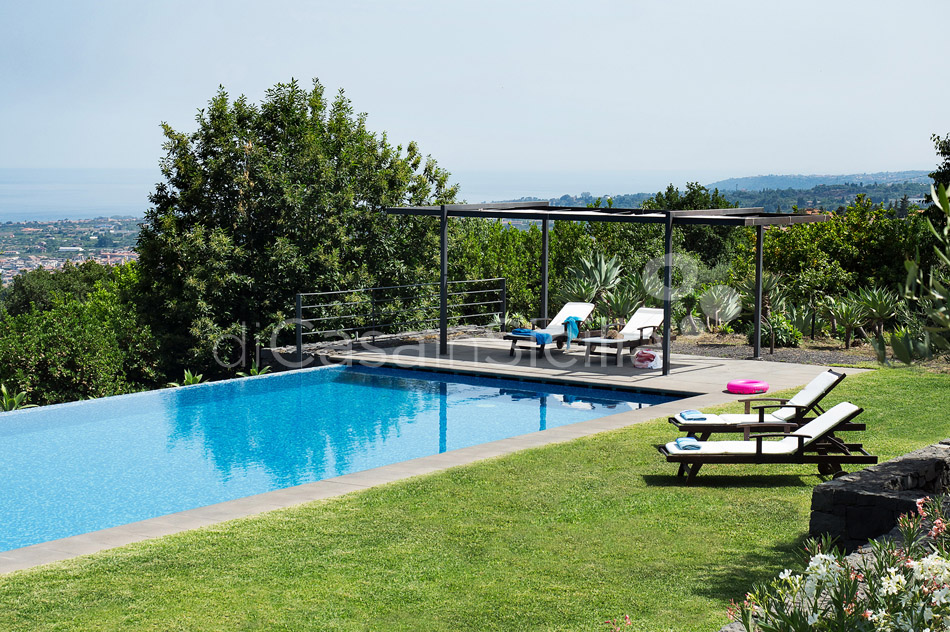 Montebello Villa with Pool & Hot Tub for rent Milo Mount Etna Sicily - 8