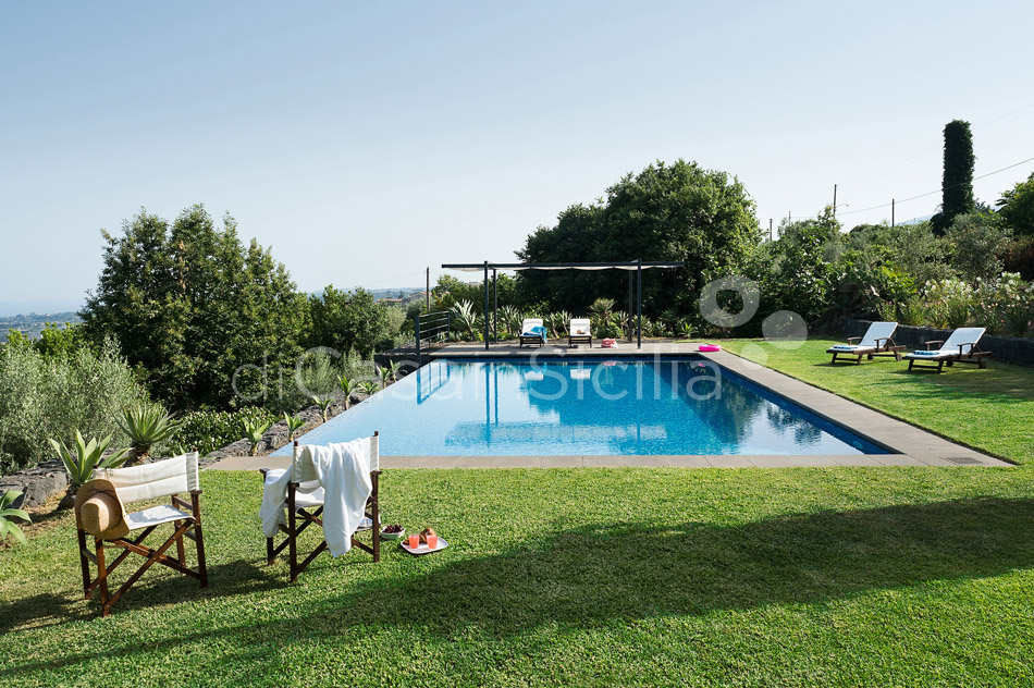Montebello Villa with Pool & Hot Tub for rent Milo Mount Etna Sicily - 10