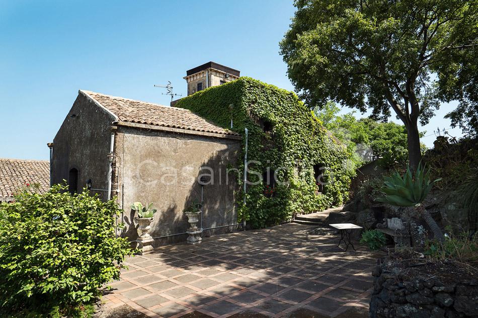 Montebello Villa mit Pool und Whirlpool zur Miete Milo Etna Sizilien - 12