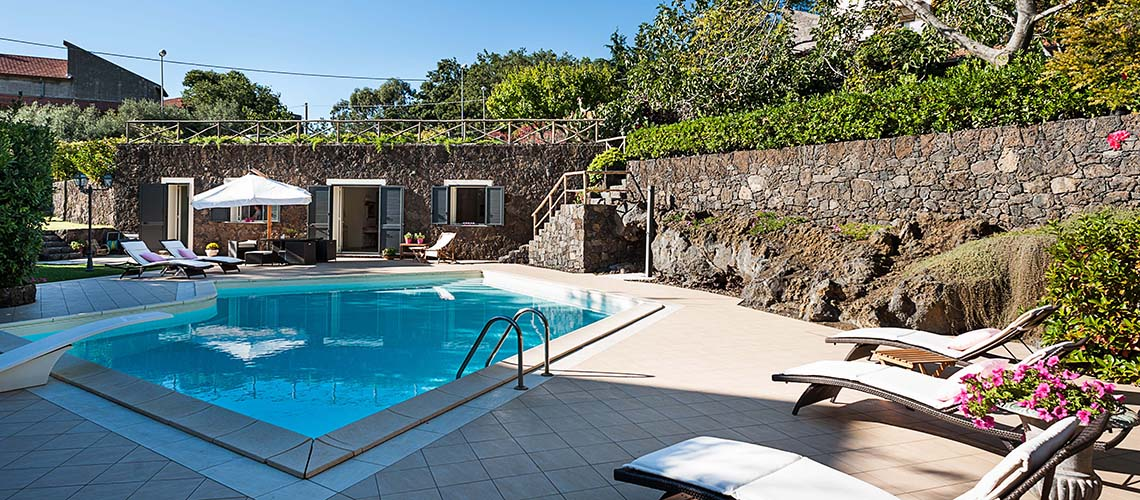 Romantic country villas with pool, Etna|Di Casa in Sicilia - 24