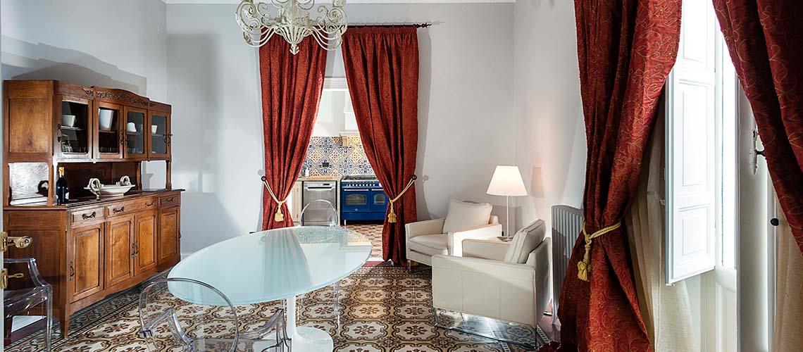 Palazzo Barlotta Principe Appartamento affitto a Trapani Sicilia - 23