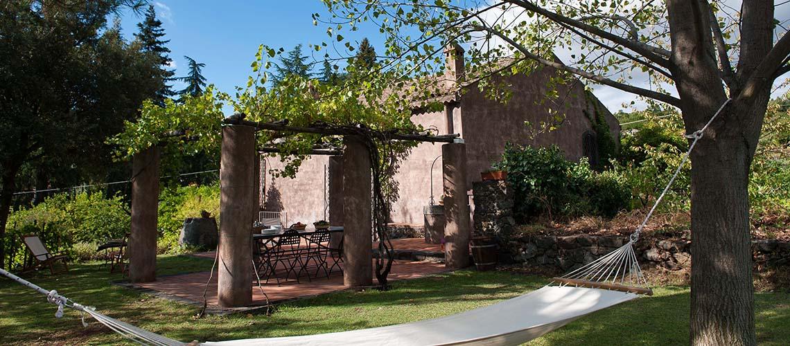 Palmento Monterosso Villa in affitto sull'Etna Trecastagni Sicilia - 0