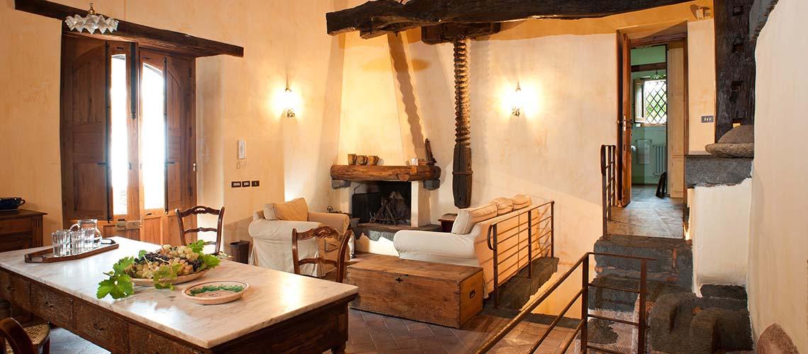 Palmento Monterosso Villa in affitto sull'Etna Trecastagni Sicilia - 2