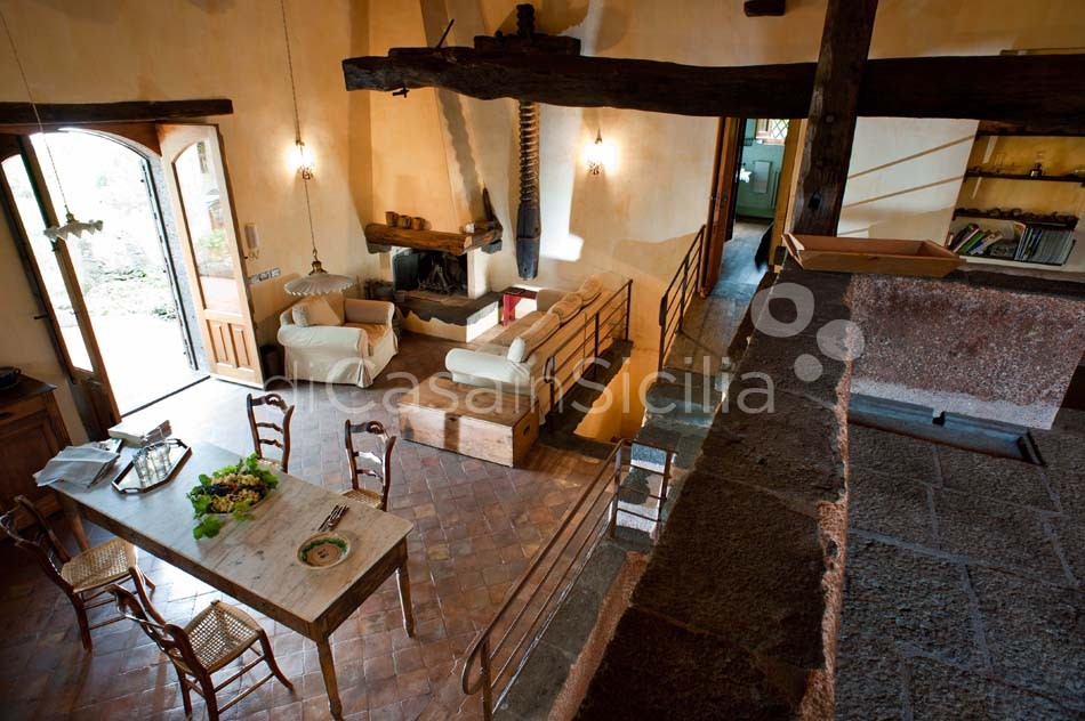 Palmento Monterosso Villa in affitto sull'Etna Trecastagni Sicilia - 17