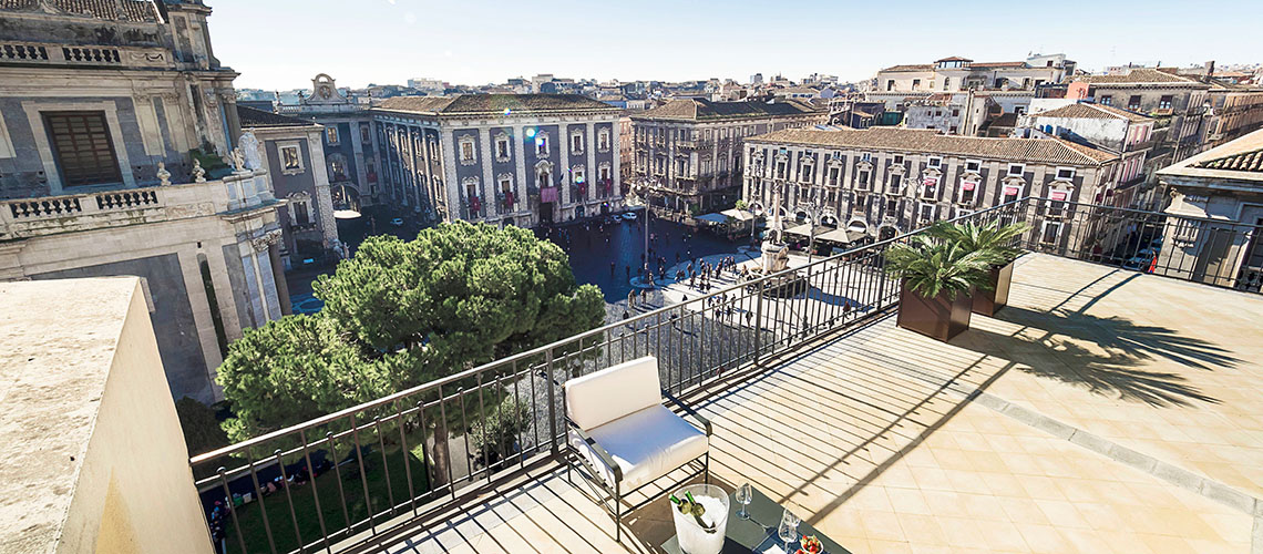 Penthouse Duomo Luxury Apartment for rent in Catania Sicily - 41
