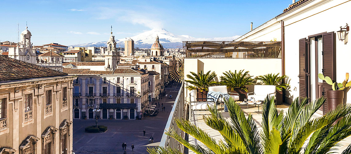 Penthouse Duomo Luxuswohnung zur Miete in Catania Sizilien  - 42