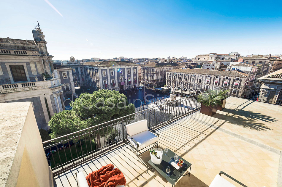 Penthouse Duomo Luxuswohnung zur Miete in Catania Sizilien  - 0