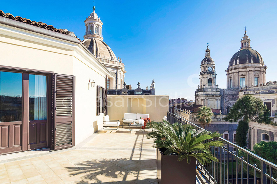 Penthouse Duomo Luxuswohnung zur Miete in Catania Sizilien  - 1