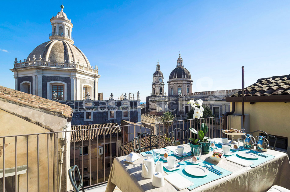 Penthouse Duomo Luxuswohnung zur Miete in Catania Sizilien  - 17