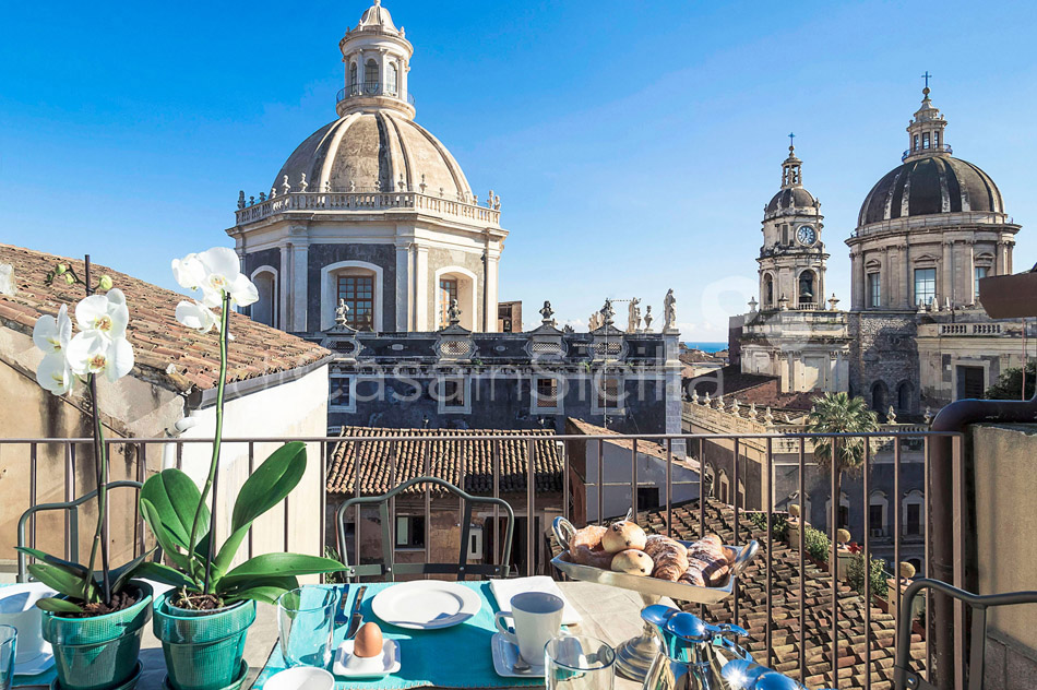 Penthouse Duomo Luxuswohnung zur Miete in Catania Sizilien  - 18
