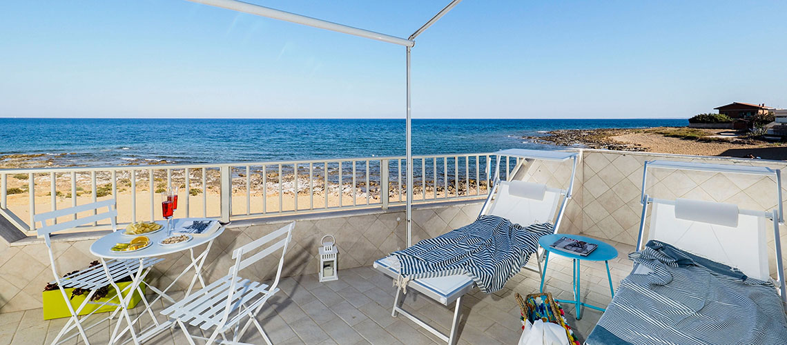 Rifugio a Mare Beach Apartment for Couples for rent near Noto Sicily - 0
