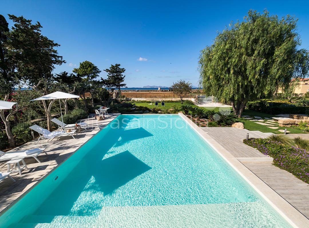 Salinella Villa am Meer mit Pool zur Miete bei Trapani Sizilien - 5