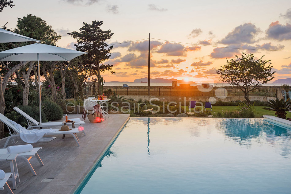 Salinella Seafront Villa with Pool for rent near Trapani Sicily - 57