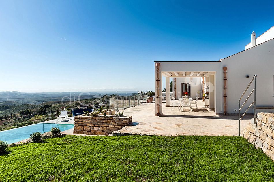 Tangi Luxury Country Villa with Infinity Pool for rent Trapani Sicily - 5