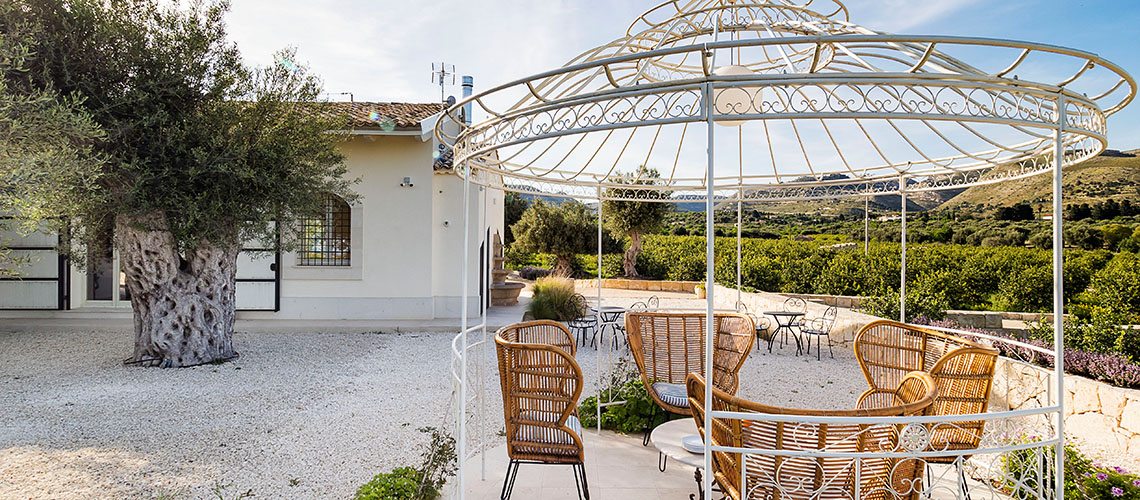 Terra Mia Villa con Piscina in Campagna in affitto ad Avola Sicilia - 1