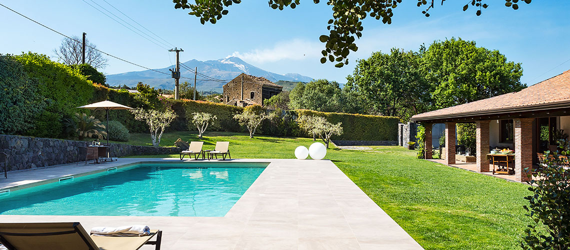 Viagrande Sicily Luxury Villa with Pool for rent on Mount Etna - 3