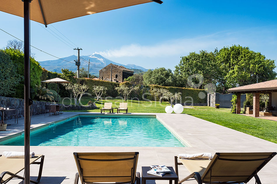 Viagrande Sicily Luxury Villa with Pool for rent on Mount Etna - 5