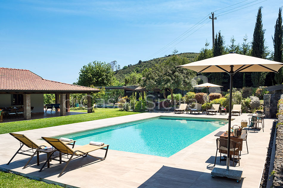 Viagrande Sicily Luxury Villa with Pool for rent on Mount Etna - 8
